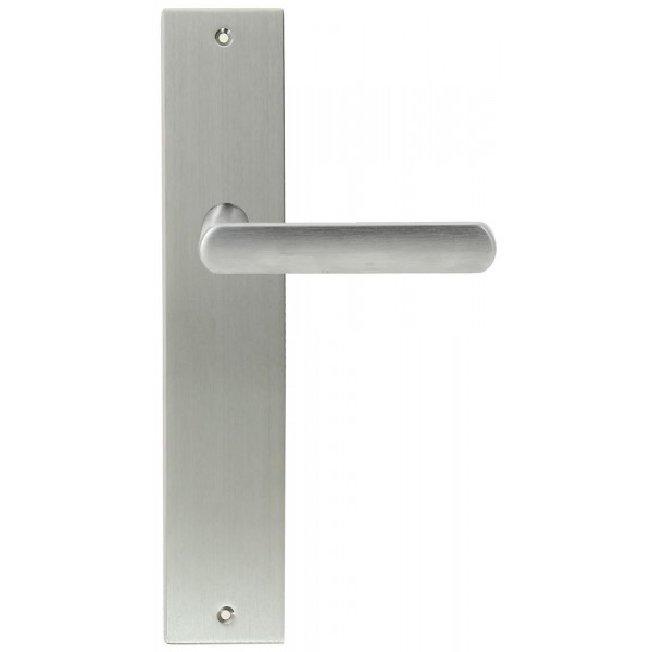 Дверная ручка Extreza Hi-tech «AQUA» (Аква) 113 на планке PL11 матовый хром F05