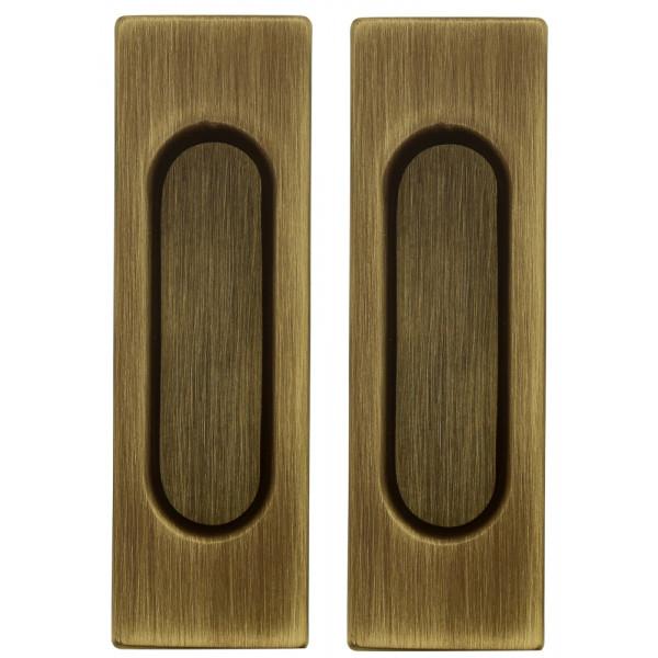 Дверная ручка Extreza Hi-tech P401 матовая бронза F03