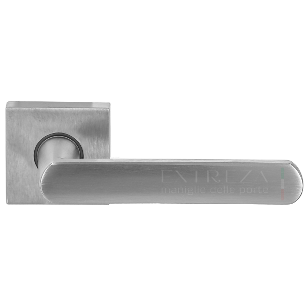 Дверная ручка Extreza Hi-tech «AQUA» (Аква) 113 R11 матовый хром F05