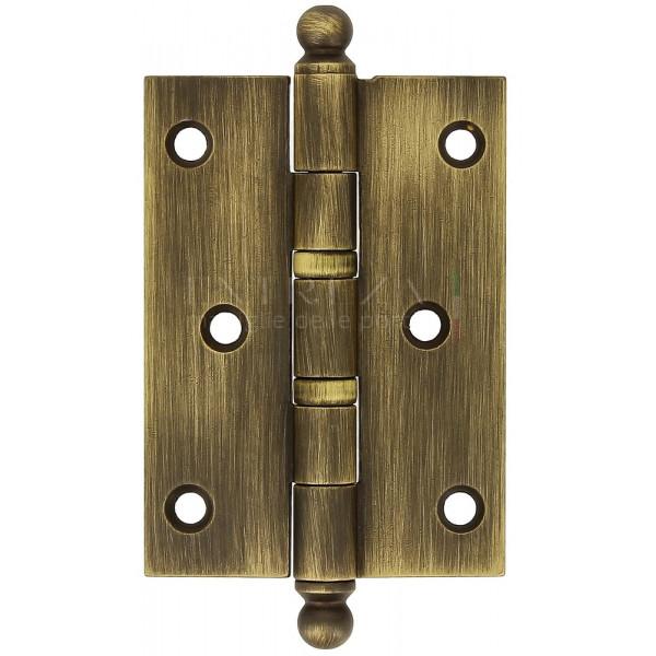 Петля универсальная латунная Extreza 5110 102x75x3 мм матовая бронза F03