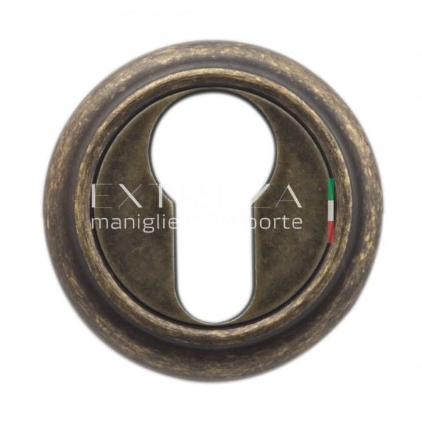Накладка дверная Extreza CYL под цилиндр R01 античная бронза F23
